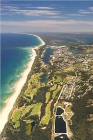Lakes Entrance Aerial